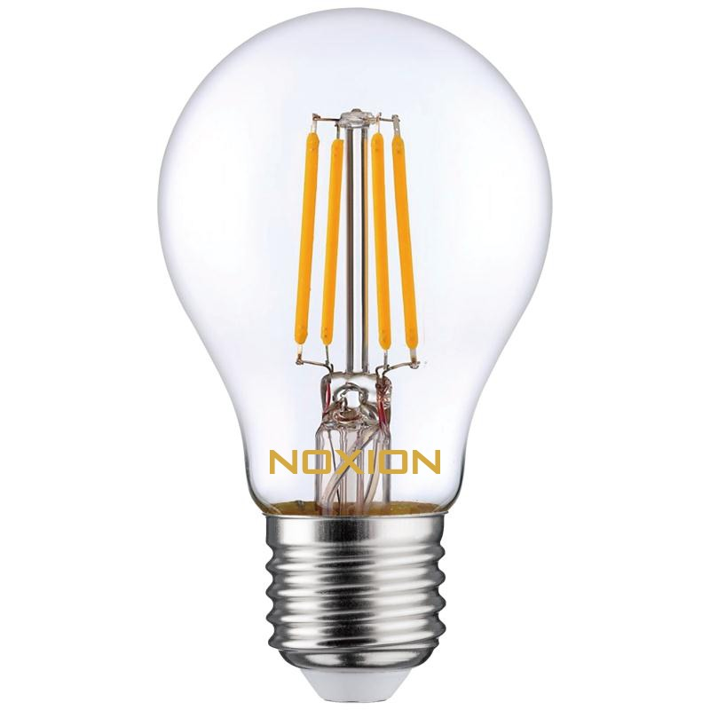 Noxion Lucent Filament LED Bulb A60 E27 4W 827 | Vervangt 40W