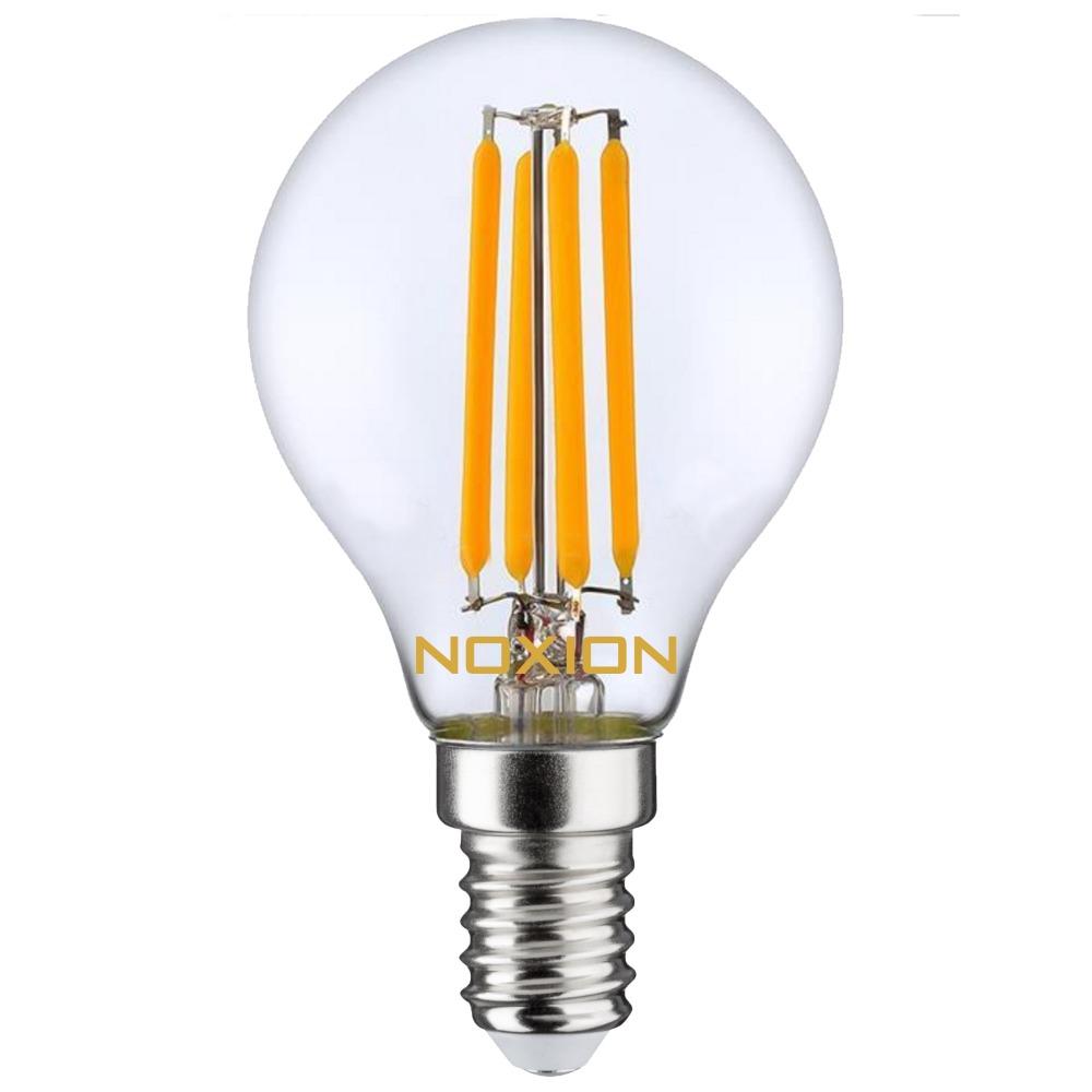 Noxion Lucent Filament LED Lustre P45 E14 4W 827 | Vervangt 40W