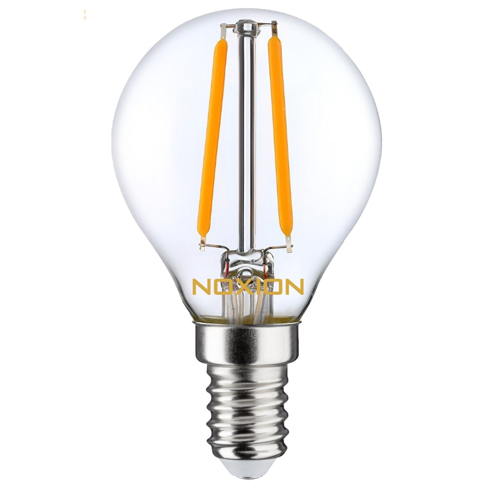 Noxion Lucent Filament LED Lustre P45 E14 2.7W 827 | Dimbaar - Vervangt 25W