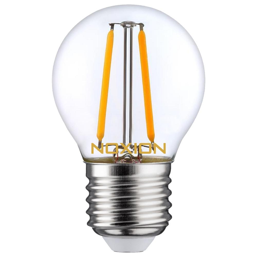 Noxion Lucent Filament LED Lustre P45 E27 2.7W 827 | Vervangt 25W