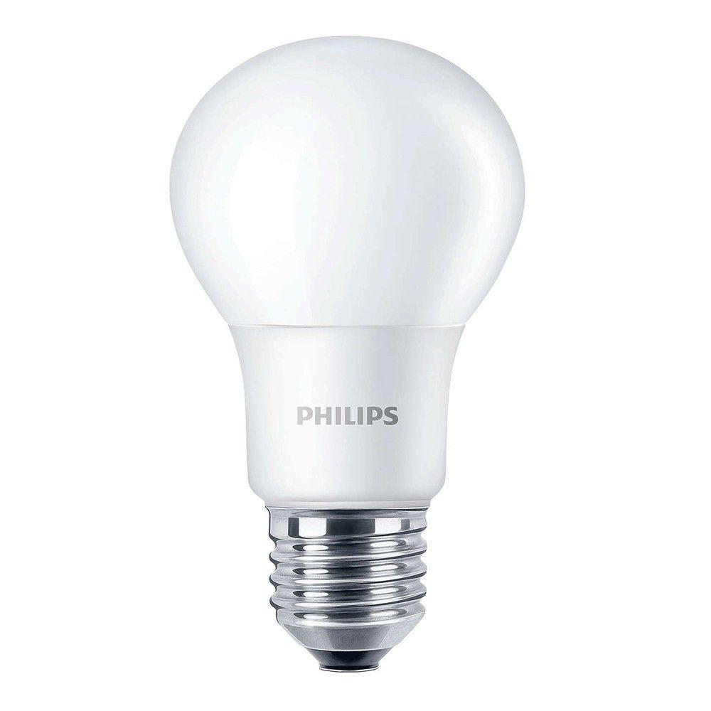 Philips CorePro LEDbulb E27 A60 5W 840 A60 Mat   Vervangt 40W