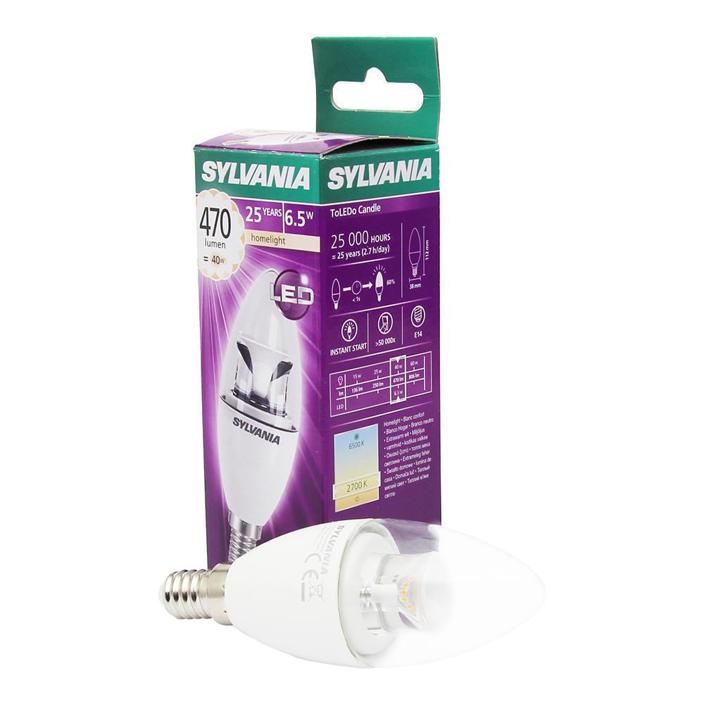 Sylvania ToLEDo Candle E14 Helder 6.5W | Vervangt 40W