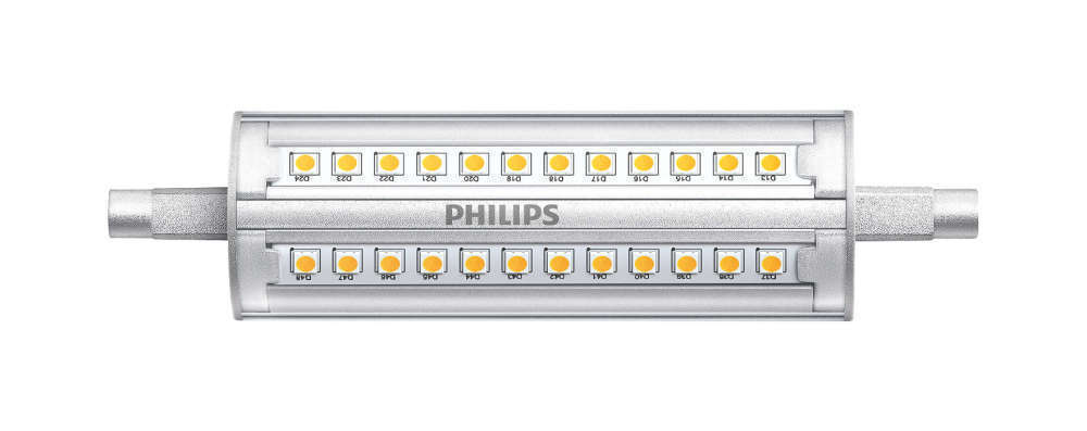 Philips CorePro R7s 14W 840 118mm | Dimbaar - Vervangt 100W
