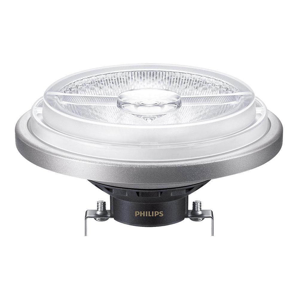 Philips LEDspot LV G53 AR111 12V 20W 830 40D MASTER   Dimbaar - Vervangt 100W