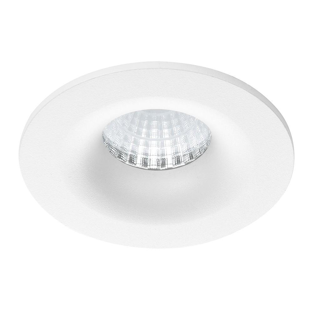 Noxion LED Spot Gimax IP44 2700K Aluminium 6W   Dimbaar