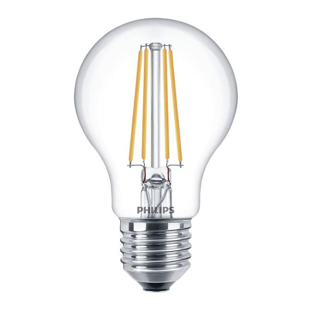 Philips Classic LEDbulb E27 A67 8W 827 Helder | Dimbaar - Vervangt 60W