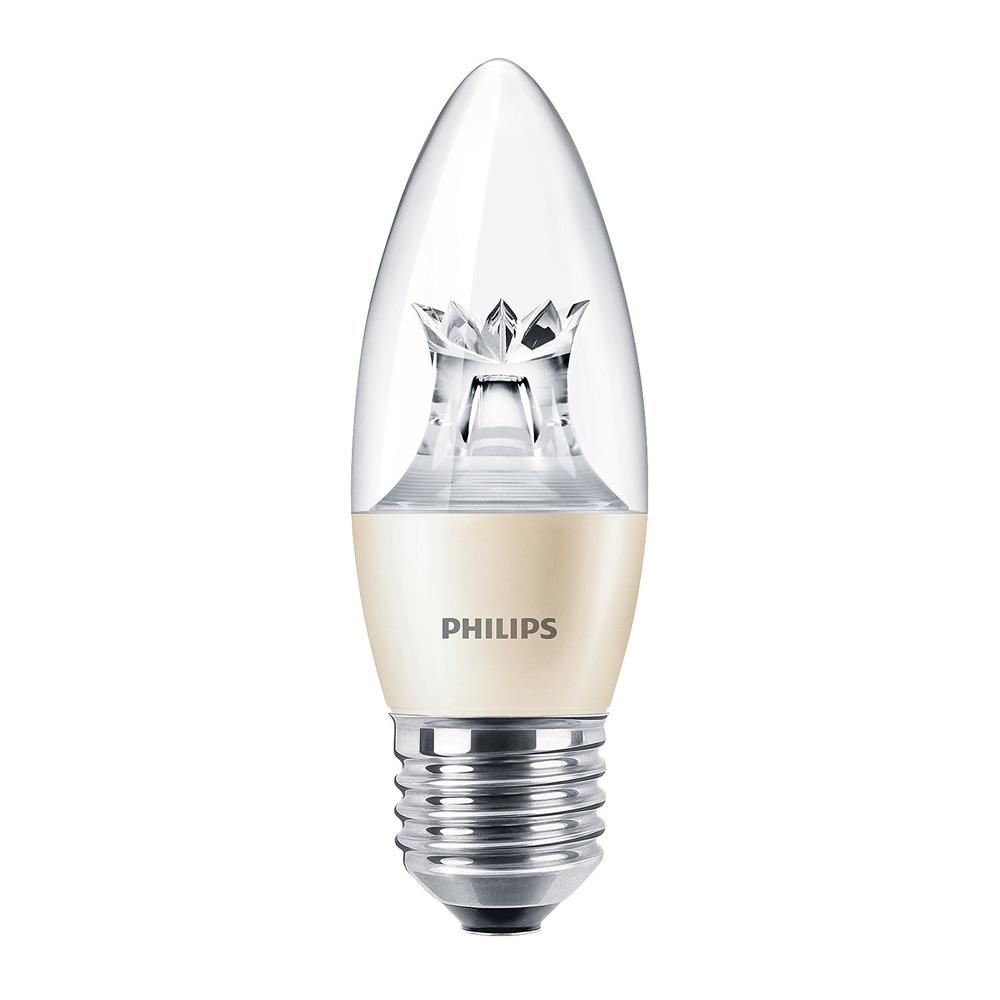 Philips LEDcandle E27 B38 6W 827 MASTER   DimTone Dimbaar - Vervangt 40W