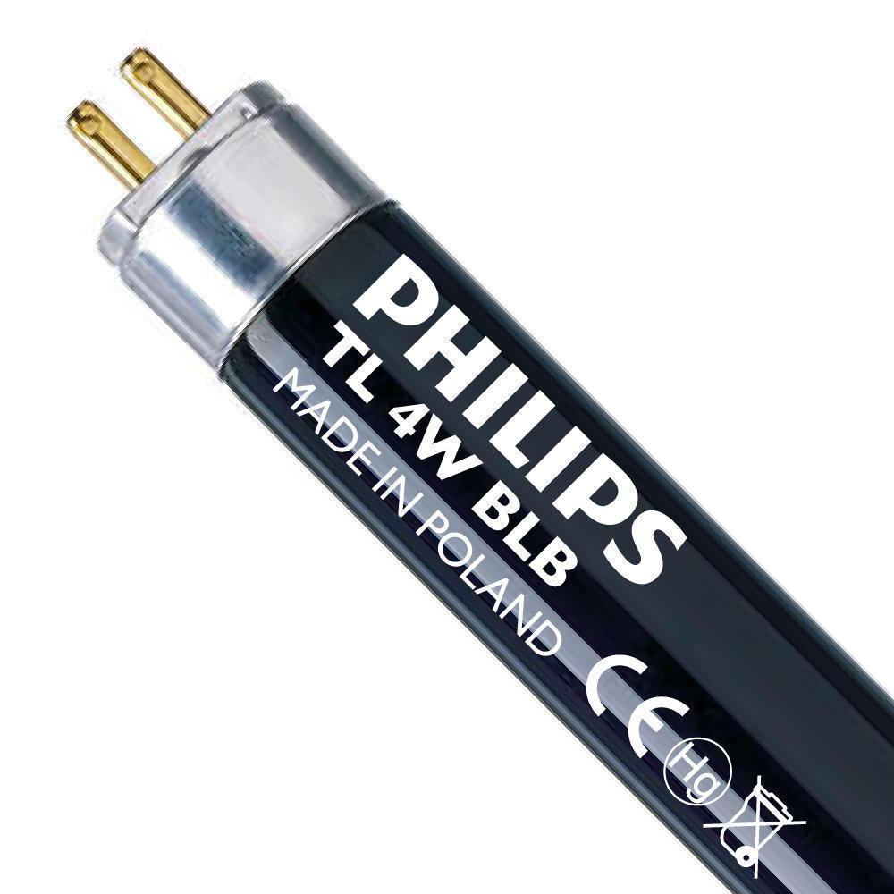 Philips TL 4W BLB Zwartlight   14cm