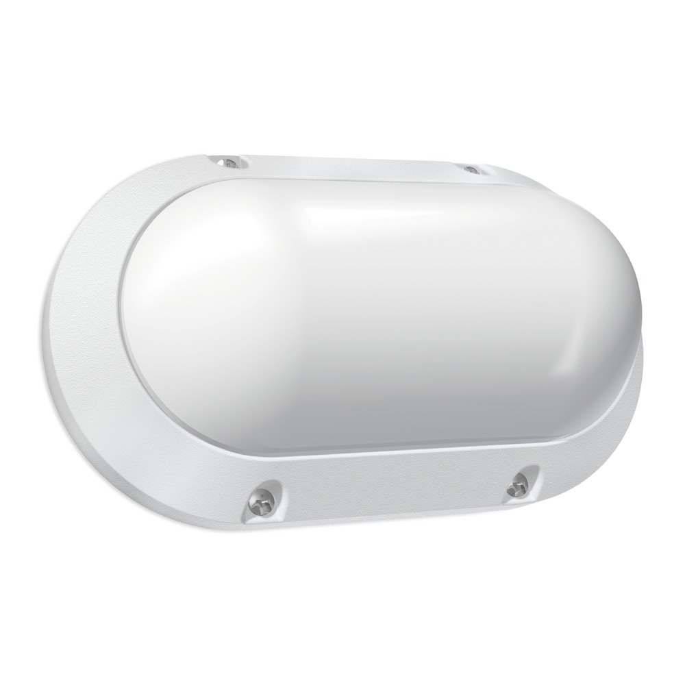 Budgetlight Blok Oval LED Wandlamp IP65 7W 840 550lm