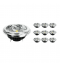 Voordeelpak 10x Noxion Lucent LED Spot AR111 G53 Pro 12V 12W 930 40D  Hoogste Kleurweergave - Dimbaar - Vervanger voor 50W