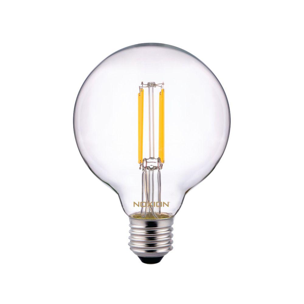 Noxion PRO LED Globe Classic Kooldraad G95 E27 6.5W 827 Helder | Vervanger voor 60W