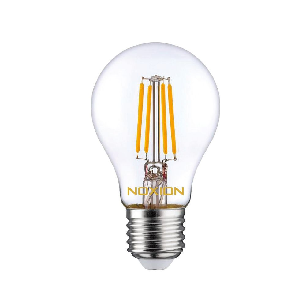 Noxion Lucent Kooldraad LED Bulb 8W 827 A60 E27 Helder   Vervanger voor 75W