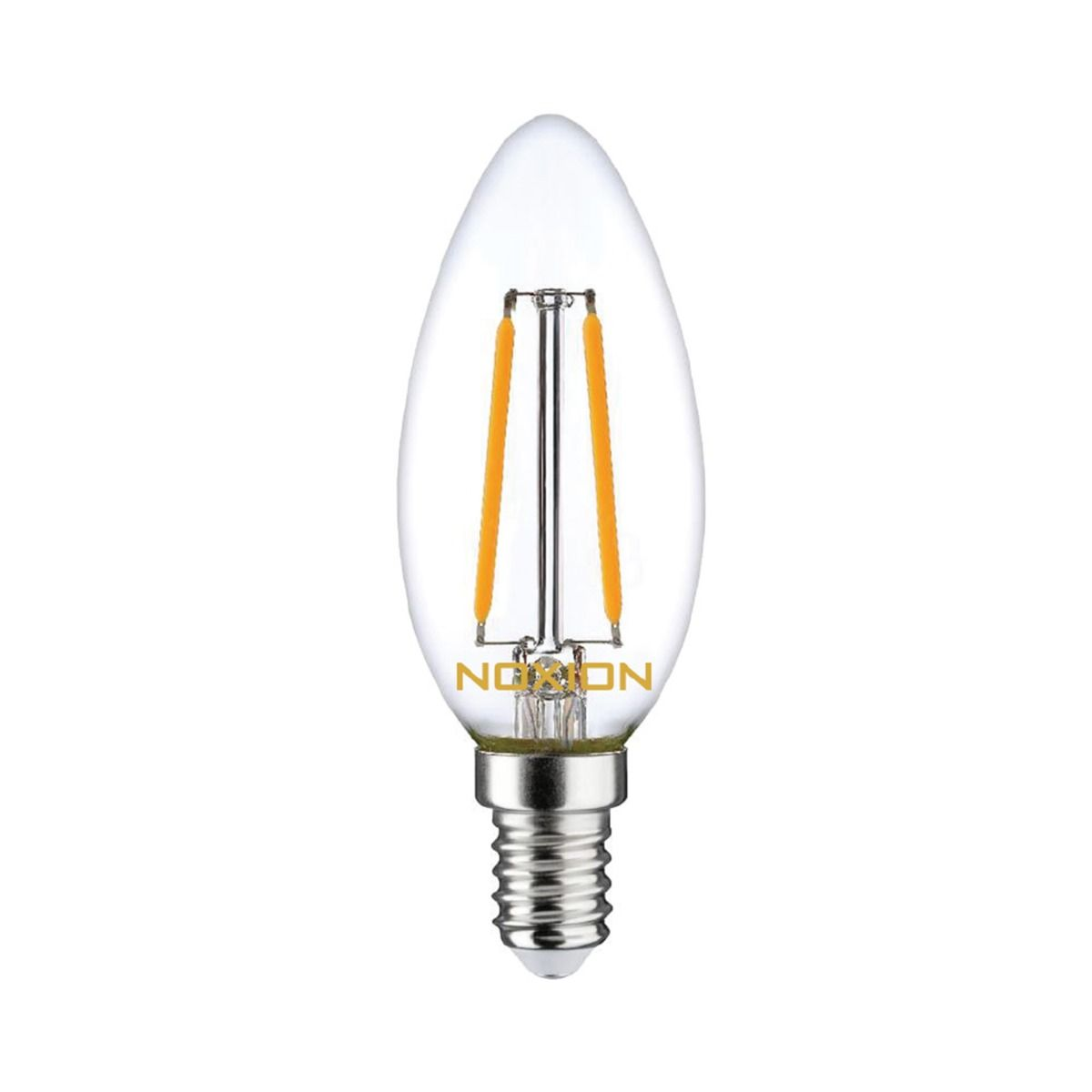 Noxion Lucent Kooldraad LED Candle 2.5W 827 B35 E14 Helder | Vervanger voor 25W