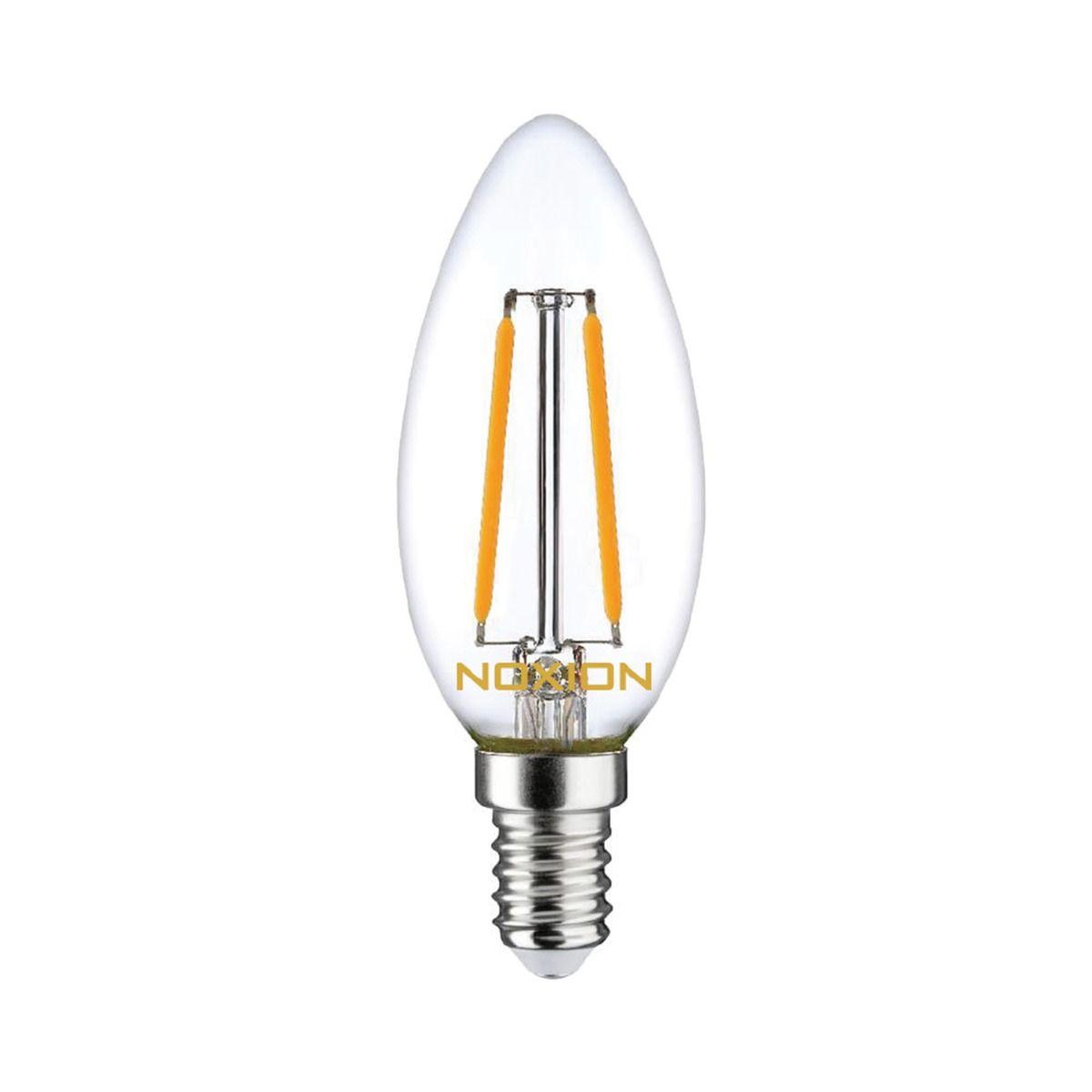 Noxion Lucent Gloeilamp LED Kaars B35 E14 2.5W 250lm 827 | Dimbaar - Vervanger voor 25W
