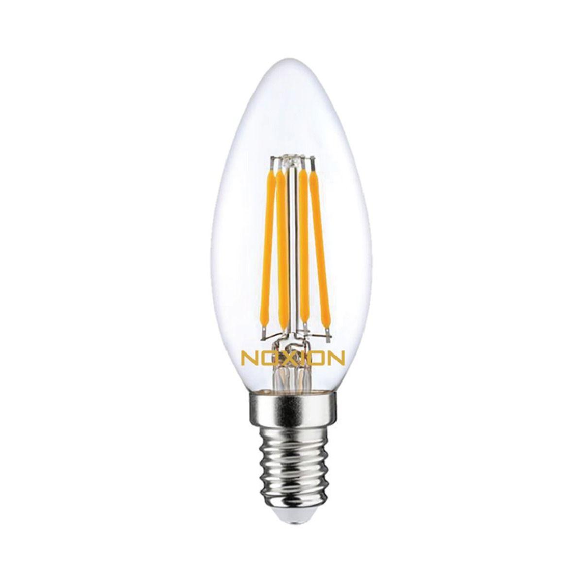 Noxion Lucent Kooldraad LED Candle 4.5W 827 B35 E14 Helder | Dimbaar - Vervanger voor 40W