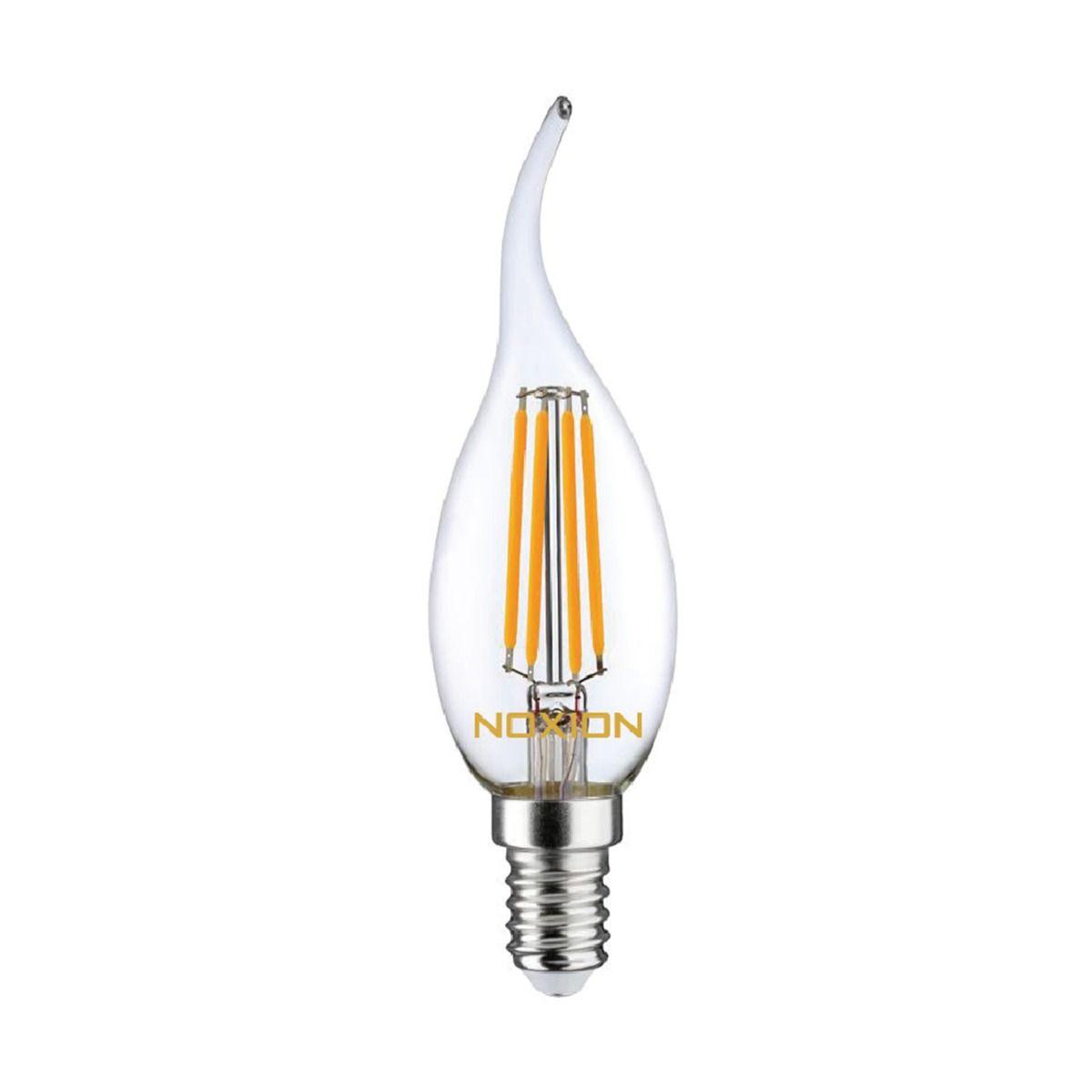 Noxion Lucent Kooldraad LED Candle 4.5W 827 BA35 E14 Helder   Dimbaar - Vervanger voor 40W