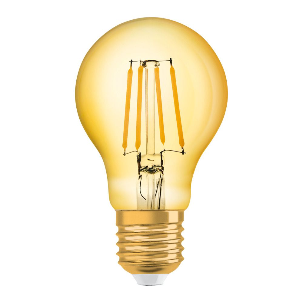 Osram Vintage 1906 LED Classic E27 A 4W 824 Kooldraad Goud   Vervanger voor 35W
