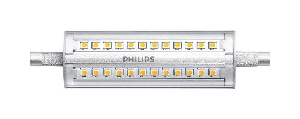 Philips CorePro R7s 14W 830 118mm | Dimbaar - Vervangt 100W