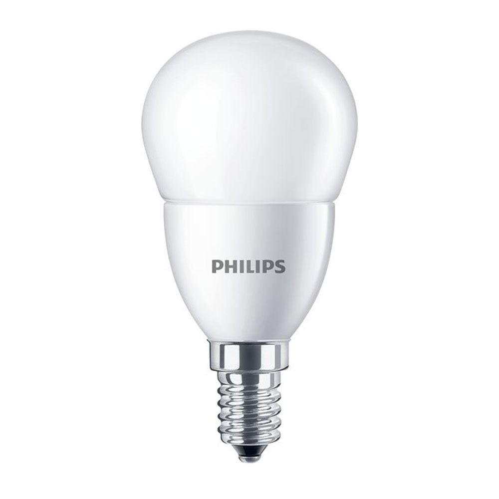 Philips CorePro LEDlustre E14 P48 7W 827 Mat   Vervangt 60W