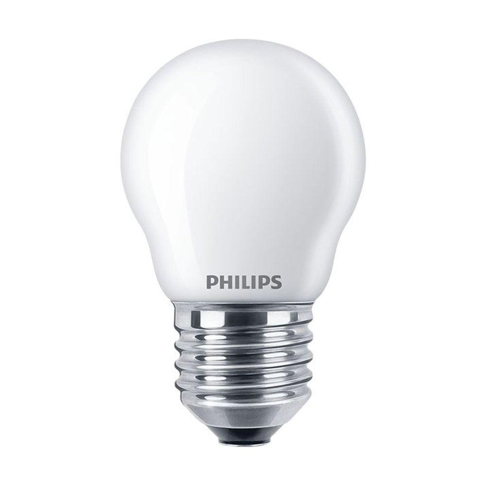 Philips Classic LEDlustre E27 P45 4.3W 827 Mat   Vervangt 40W