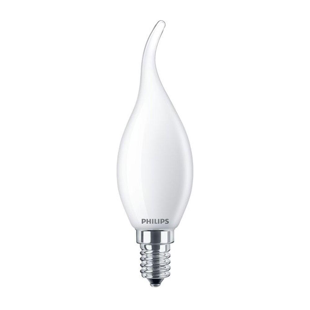 Philips Classic LEDcandle E14 BA35 2.2W 827 Mat | Vervangt 25W