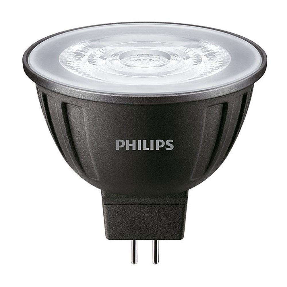 Philips LEDspot LV GU5.3 MR16 8W 840 24D MASTER | Dimbaar - Vervangt 50W
