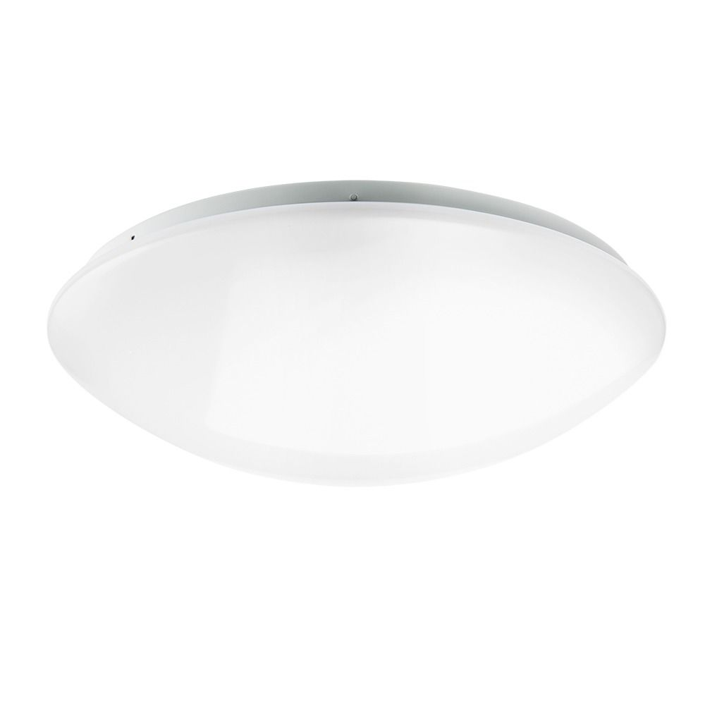 Noxion LED Wandlamp Corido IP44 4000K 18W | met Sensor - Vervangt 2x18W