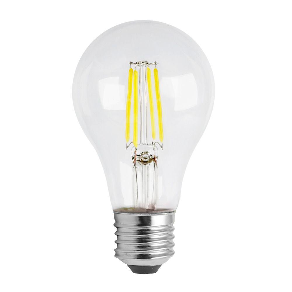 Noxion Lucent Classic LED Kooldraad A60 E27 8W 822-827 Helder | Dimbaar - Vervanger voor 60W