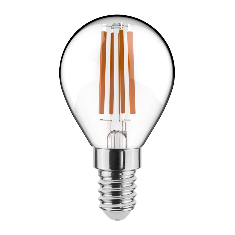 Noxion Lucent Kooldraad LED Lustre 4.5W 827 P45 E14 Helder | Dimbaar - Vervanger voor 40W