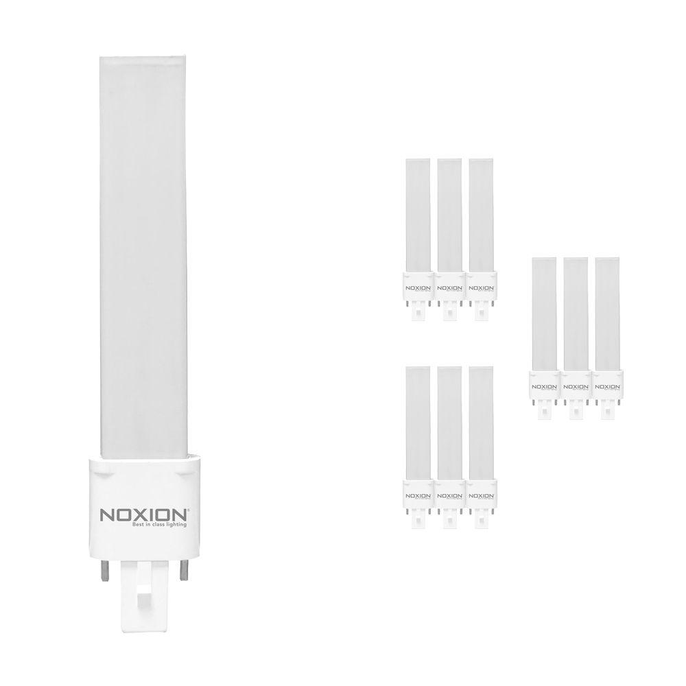 Multipack 10x Noxion Lucent LED PL-S EM 4.5W 840 | 2-Pins - Vervanger voor 10W and 13W