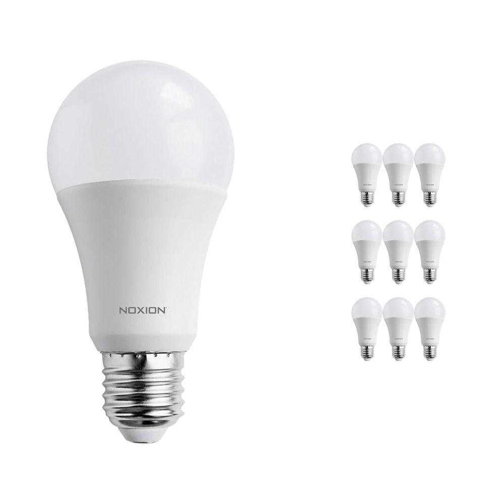 Multipack 10x Noxion PRO LED Bulb A60 E27 15W 840 Mat | Vervanger voor 100W