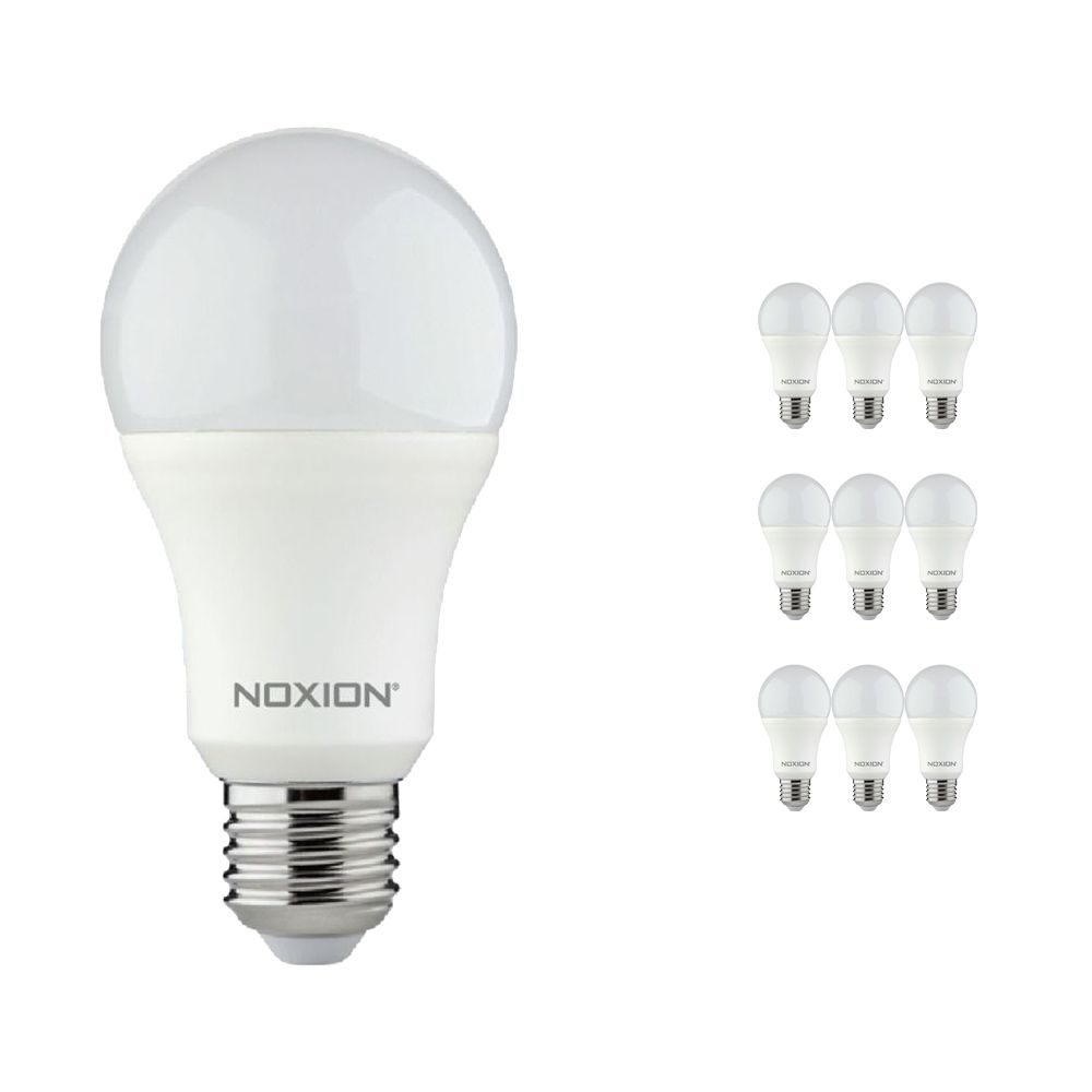 Multipack 10x Noxion Lucent LED Classic 11W 840 A60 E27   Vervanger voor 75W