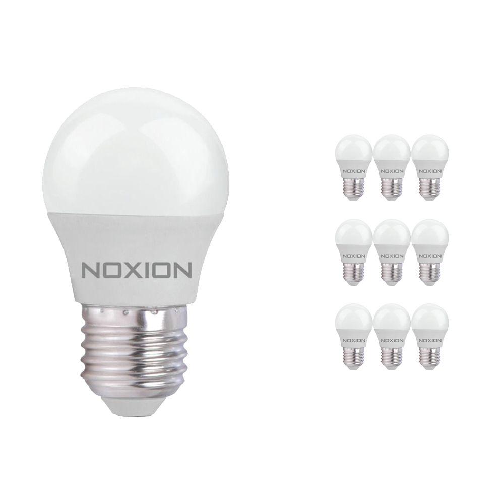 Multipack 10x Noxion Lucent LED Classic Lustre 5W 827 P45 E27   Vervanger voor 40W