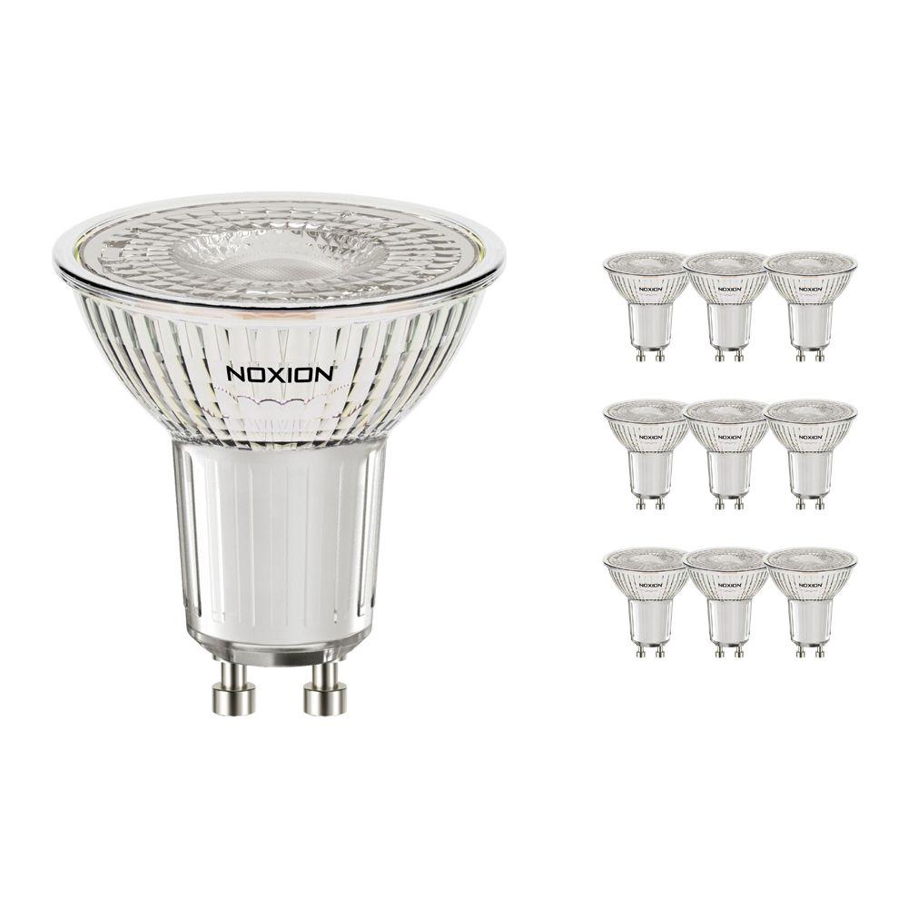 Multipack 10x Noxion LED Spot PerfectColor GU10 4W 927 60D 310lm | Dimbaar - Vervanger voor 35W