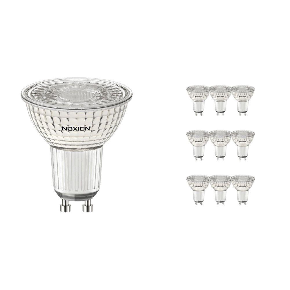 Multipack 10x Noxion LED Spot PerfectColor GU10 4W 930 60D 310lm | Dimbaar - Vervanger voor 35W