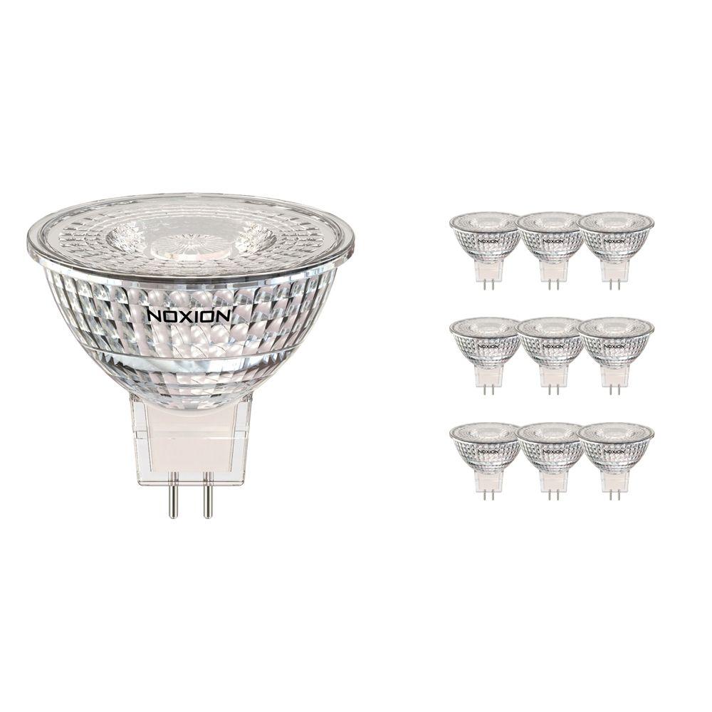 Multipack 10x Noxion LED Spot GU5.3 5W 830 36D 470lm   Dimbaar - Vervanger voor 35W