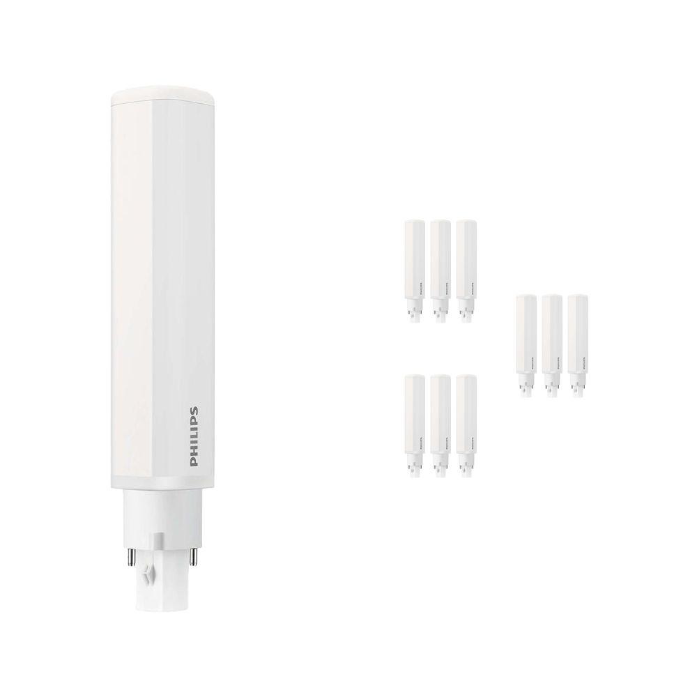 Voordeelpak 10x Philips CorePro PL-C LED 8.5W 840 | 2-Pins - Vervanger voor 26W