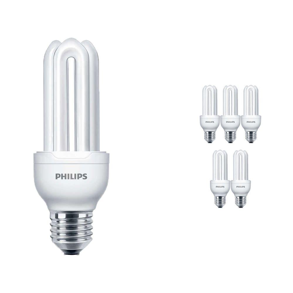 Voordeelpak 6x Philips Genie ESaver 11W 827 E27