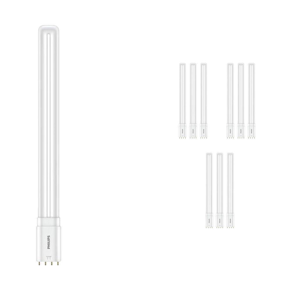 Voordeelpak 10x Philips CorePro PL-L HF LED 16.5W 830 | 4-Pins - Vervanger voor 36W