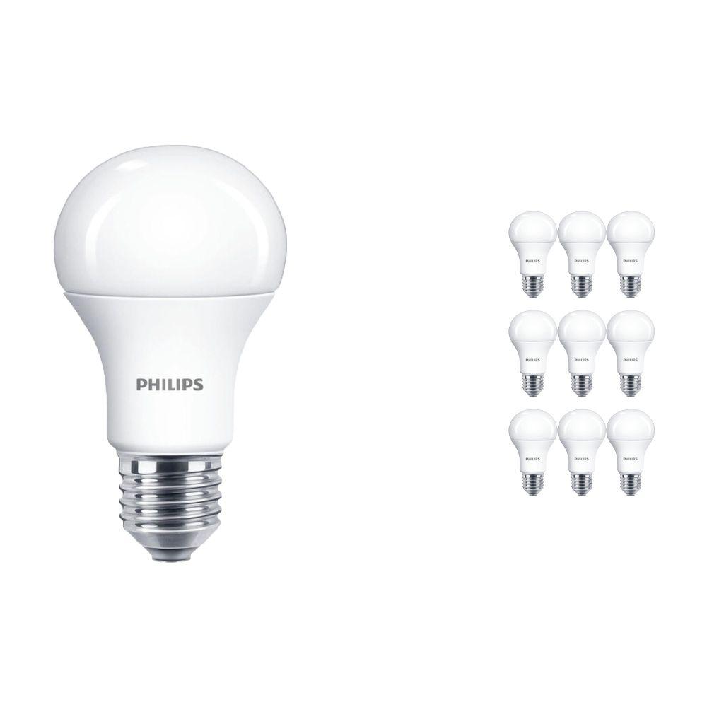 Voordeelpak 10x Philips CorePro LEDbulb E27 A60 11W 827 Matt | Vervanger voor 75W