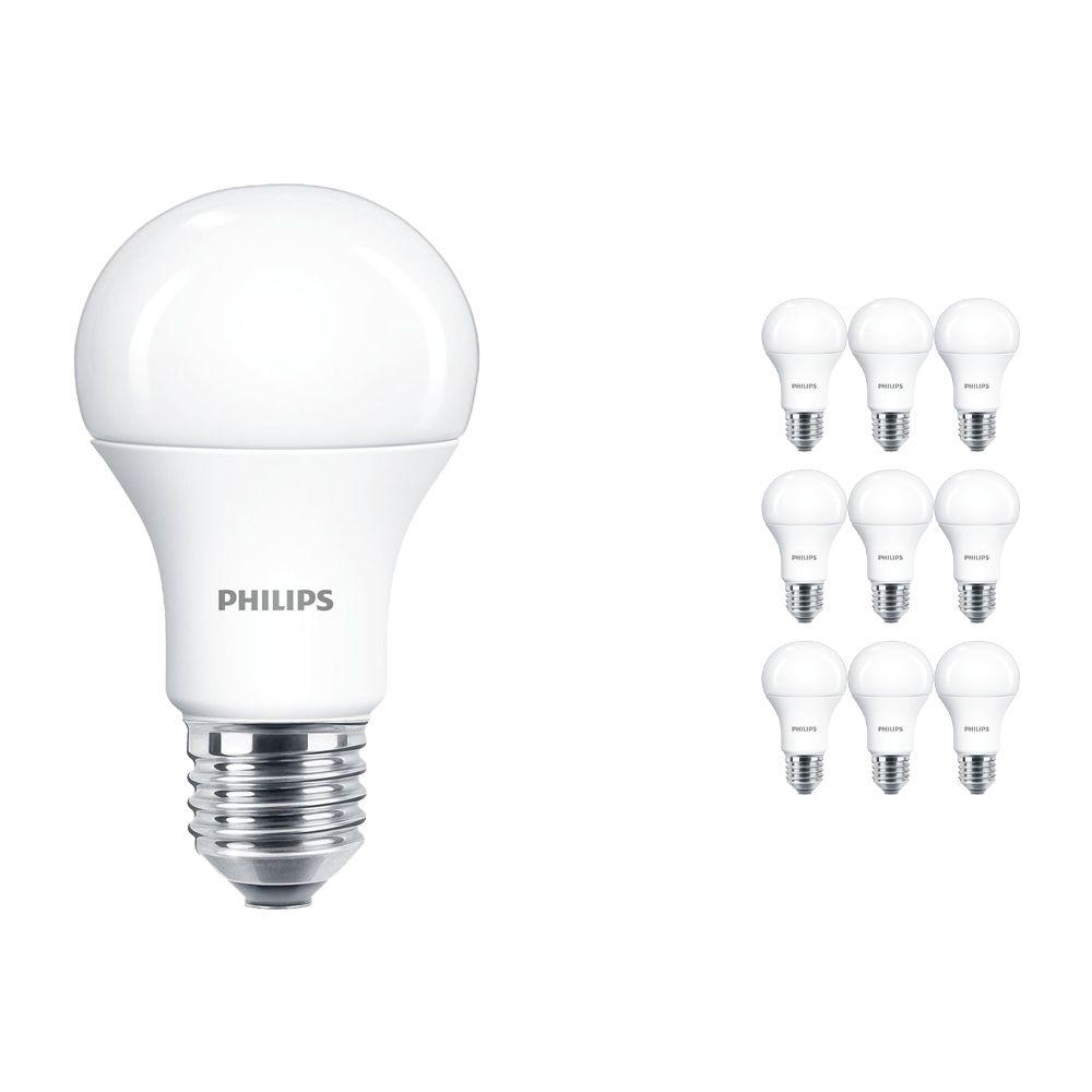 Voordeelpak 10x Philips LEDbulb E27 A60 9W 927 Mat (MASTER) | DimTone Dimbaar - Vervanger voor 60W
