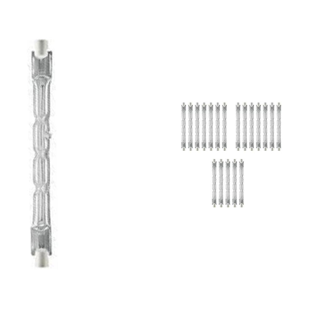 Voordeelpak 20x Osram Haloline 64696 Eco ES 120W 230V 11.4cm R7s long