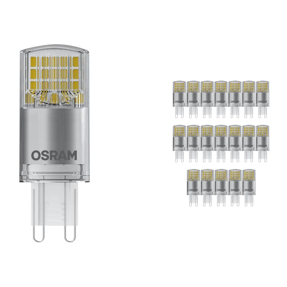 Voordeelpak 20x Osram Parathom Pin G9 3.8W 827 Helder   Vervangt 40W