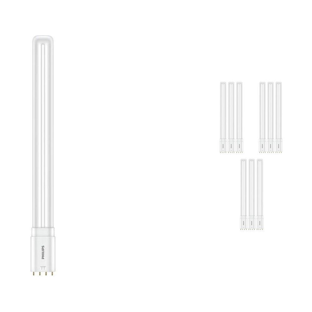 Voordeelpak 10x Philips CorePro PL-L HF LED 16.5W 865 | 4-Pins - Vervanger voor 36W