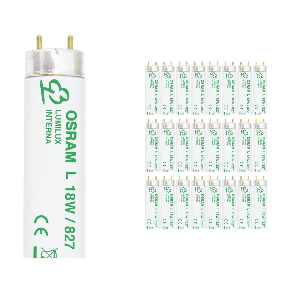 Voordeelpak 25x Osram T8 L 18W 827 G13 Lumilux