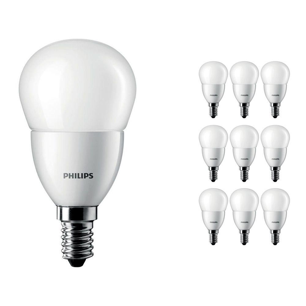 Voordeelpak 10x Philips CorePro LEDluster E14 P45 4W 827 Matt | Vervanger voor 25W