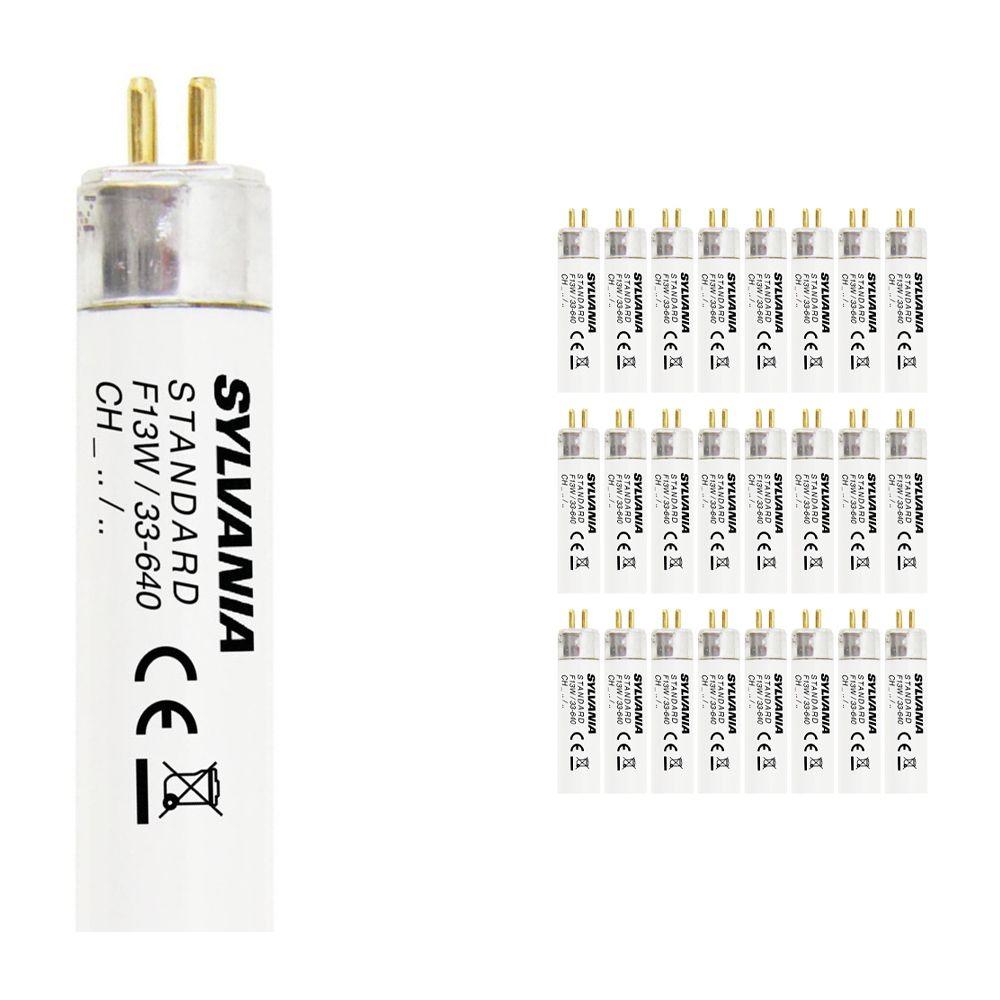 Voordeelpak 25x Sylvania T5 F13W/33-740 G5 Luxline Standaard