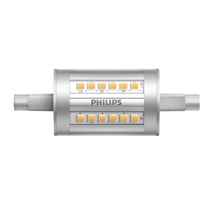 Philips CorePro LEDlinear R7s 7.5W 840 78mm | Vervangt 60W