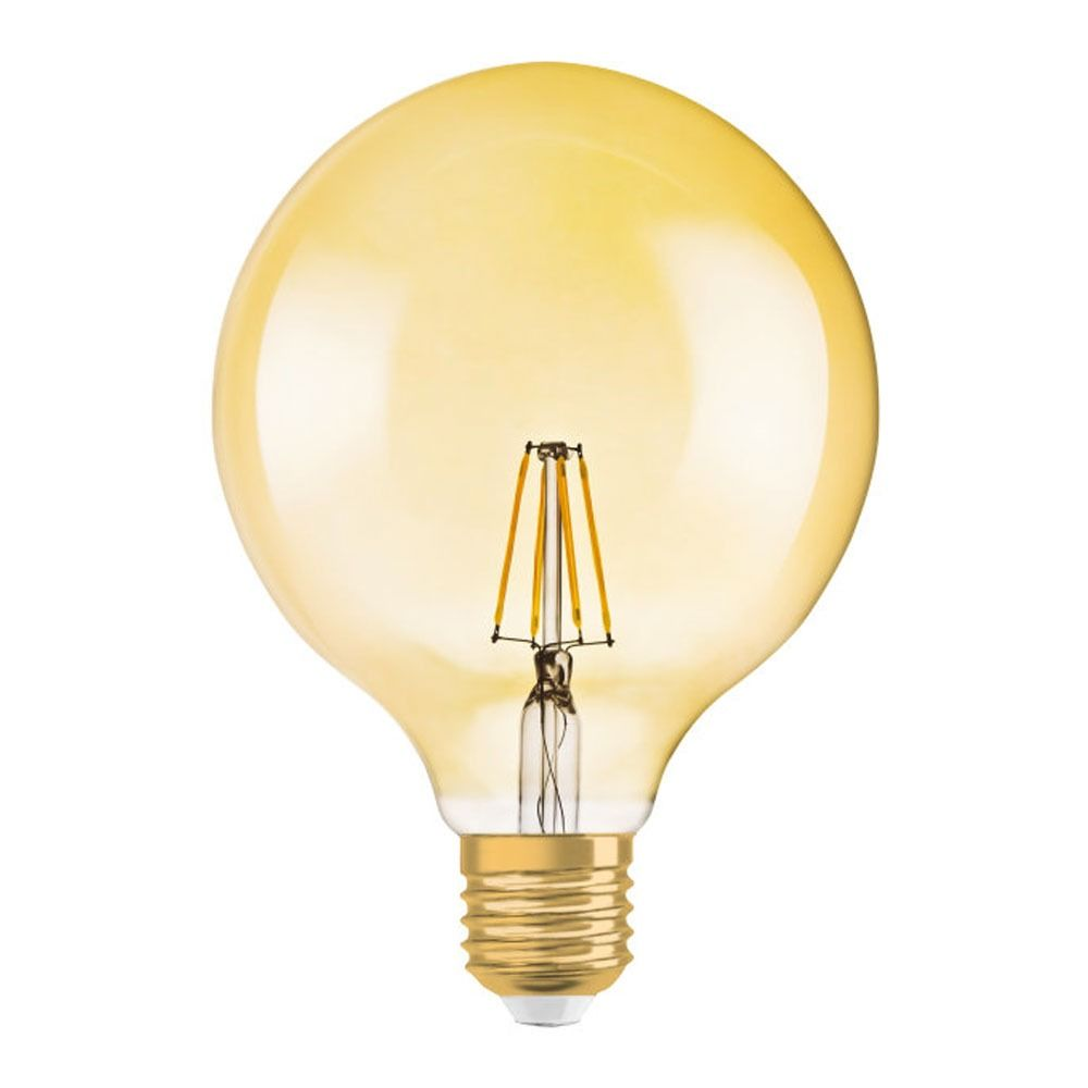 Osram Vintage 1906 LED E27 Globe 2.8W 824 Goud | Vervangt 20W