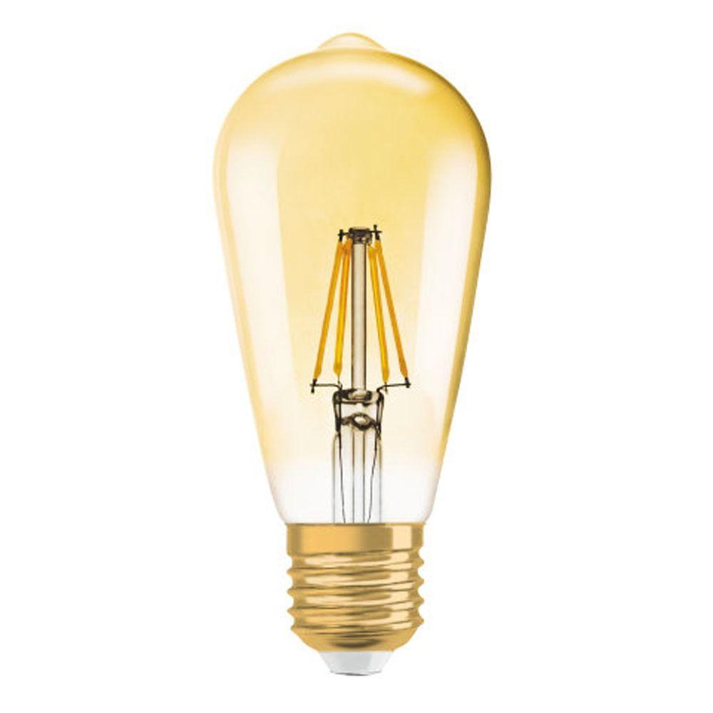 Osram Vintage 1906 LED E27 Edison 4W 825 Goud | Vervangt 35W